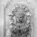 Dziewczyna przed zwierciadłem, do wiersza Bolesława Leśmiana